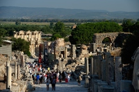 エフェソス遺跡全景