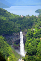 Oku-Nikko, Kegon Falls and Lake Chuzenji Stock photo [3256839] Nikko
