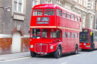 London double-decker bus Stock photo [3258584] United