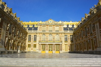 Palace of Versailles France entrance Stock photo [3258984] Palace