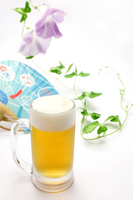 Beer and fan and morning glory Stock photo [3259176] Beer