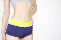 Stomach sports shorts for women Stock photo [3259281] Stomach