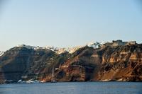 サントリーニ島接近