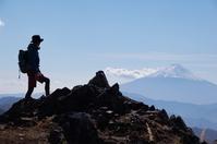 Men climbing silhouette Climbing