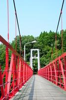 Red bridge Stock photo [3265255] Bridge
