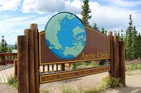 Arctic line Arctic Circle Stock photo [3267920] The