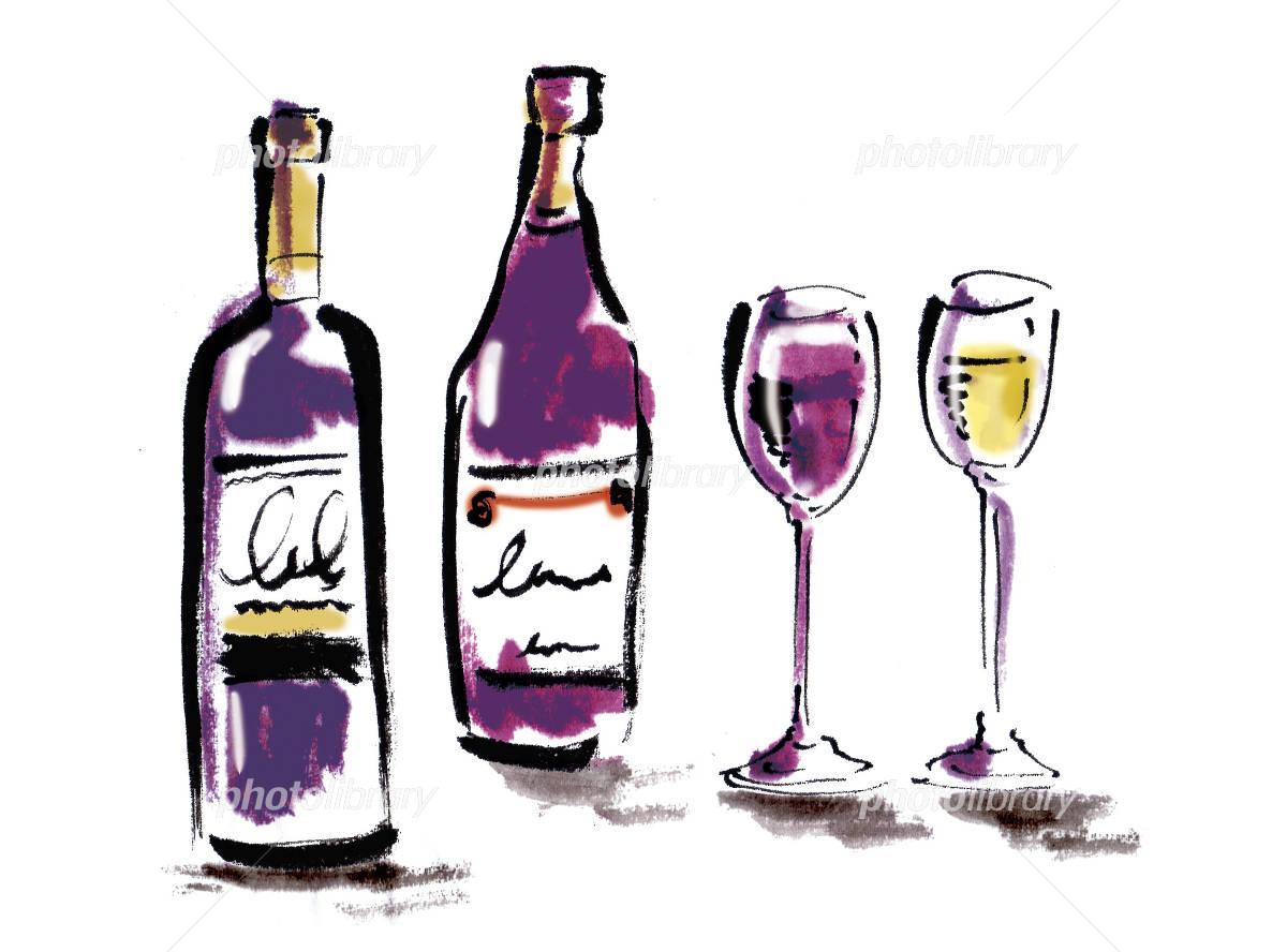ワイン イラスト素材 3449303 フォトライブラリー Photolibrary
