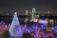 Odaiba Christmas illuminations Stock photo [3447687] Odaiba