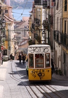Lisbon cable car (Vickers-ray) Stock photo [3448329] Lisbon