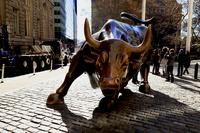Charging Bull Stock photo [3449902] Charging