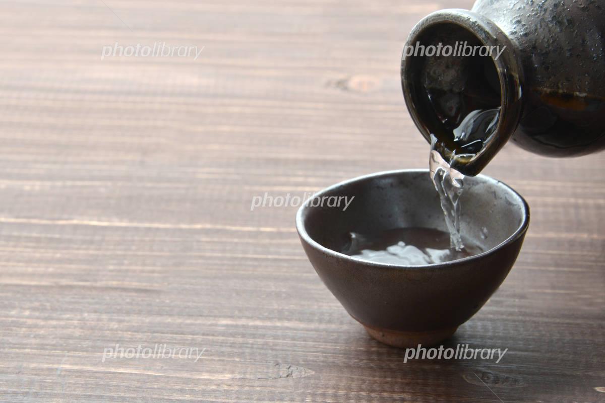 I pour the liquor Photo
