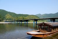 Kochi Prefecture Shimanto River Low water crossing Stock photo [3544833] Kochi
