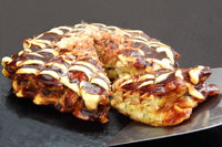 Okonomiyaki Stock photo [3544898] Okonomiyaki