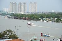 Saigon River and skyscrapers Stock photo [3547398] Saigon