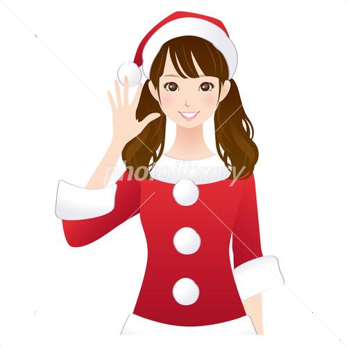 美人系女子 クリスマス イラスト素材 3664924 フォトライブラリー