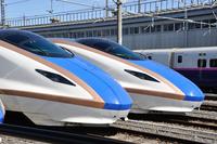 Hokuriku Shinkansen E7 system Stock photo [3651562] Hokuriku
