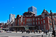 Sculptured group of Tokyo Station Marunouchi mouth Stock photo [3652716] Tokyo