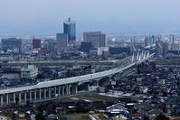 Toyama city and Hokuriku Shinkansen Stock photo [3657033] Hokuriku