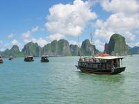 Vietnam Halong Bay cruise ship Stock photo [3659479] Vietnam