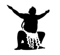 Sumo silhouette [3660499] Sumo