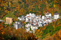 Autumn of Unazukionsen Stock photo [3664349] Unazukionsen