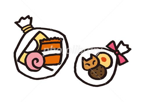 お菓子 袋入りお菓子 イラスト素材 フォトライブラリー Photolibrary