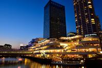 Yokohama Bay Quarter of night view Stock photo [3759124] Yokohama