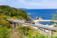 Kitariasusen Sanriku Railway Fudai Village Stock photo [3770329] Sanriku
