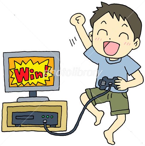 テレビゲーム 男の子 イラスト素材 3877232 フォトライブラリー