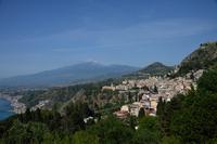 タオルミーナ全景