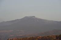 エトナ山の朝