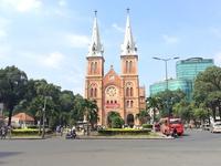 Saigon Notre-Dame Basilica Stock photo [3879690] Vietnam