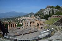 タオルミーナの古代劇場