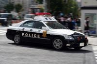 Speeding police car Stock photo [3880913] Emergency