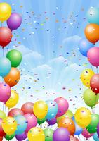 Balloon Confetti [3881337] Balloon