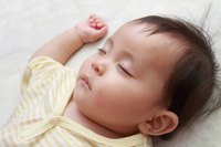 Sleeping face of the baby (0-year-olds) Stock photo [3881542] Baby