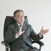 Businessman sitting in a chair Stock photo [3973275] Business