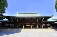 Meiji Shrine main shrine Stock photo [4059512] Meiji