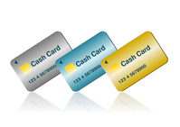 Cash card illustrations [4127988] An
