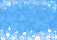 Snow sparkling crystal blue background [4135671] snow