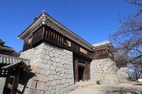 Matsuyama Castle Tsutsuimon Stock photo [4135718] Matsuyama
