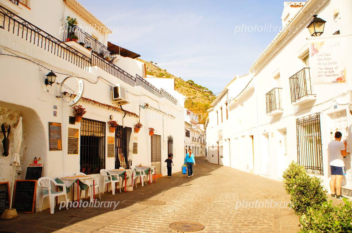 スペイン アンダルシア州 白い村ミハス 写真素材 [ 4173971 ] - フォト ...