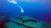 Yonaguni Island underwater ruins Stock photo [4176436] Yonaguni