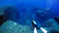 Yonaguni Island underwater ruins Stock photo [4176440] Yonaguni