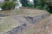 沼田城址西櫓台の石段