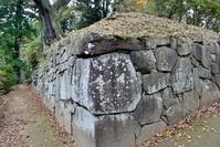 沼田城址西櫓台の石垣