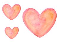 Watercolor of Heart [4178214] Handwriting