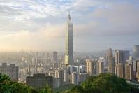 象山から見た台北101