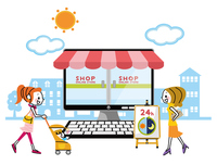 Online shopping image [4181779] Online