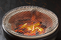 Charcoal fire of HichiRin Stock photo [4220613] Earthen